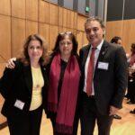 Gigi Gonzales, Carmen Larsen and Marco Avila
