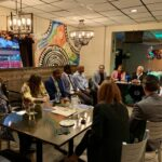 HCCMC Networking event at Q'Viva restaurant on October 2019